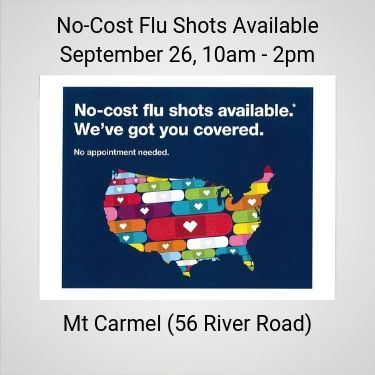 No Cost Flu Shots