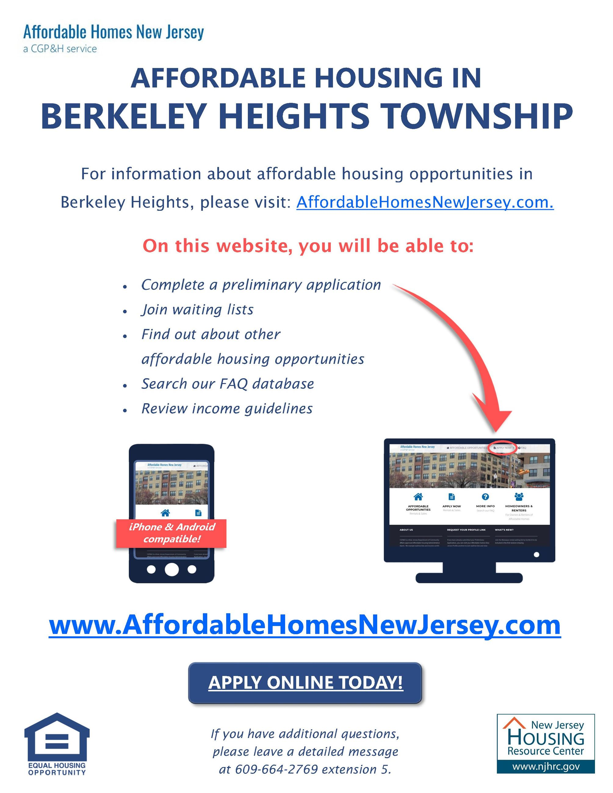 Berkeley Heights affordable housing website flyer_updated 070819 (002)