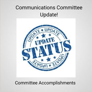 Communications Committee Update