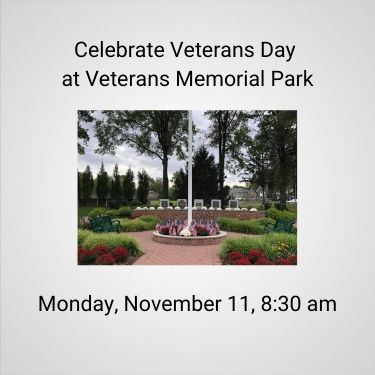 Veterans Day at Veterans Memorial Park