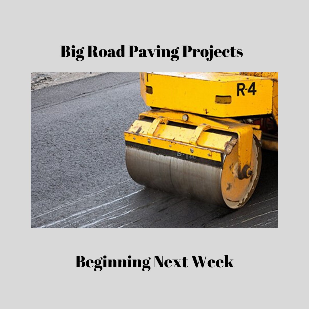 Upcoming Road Paving Work
