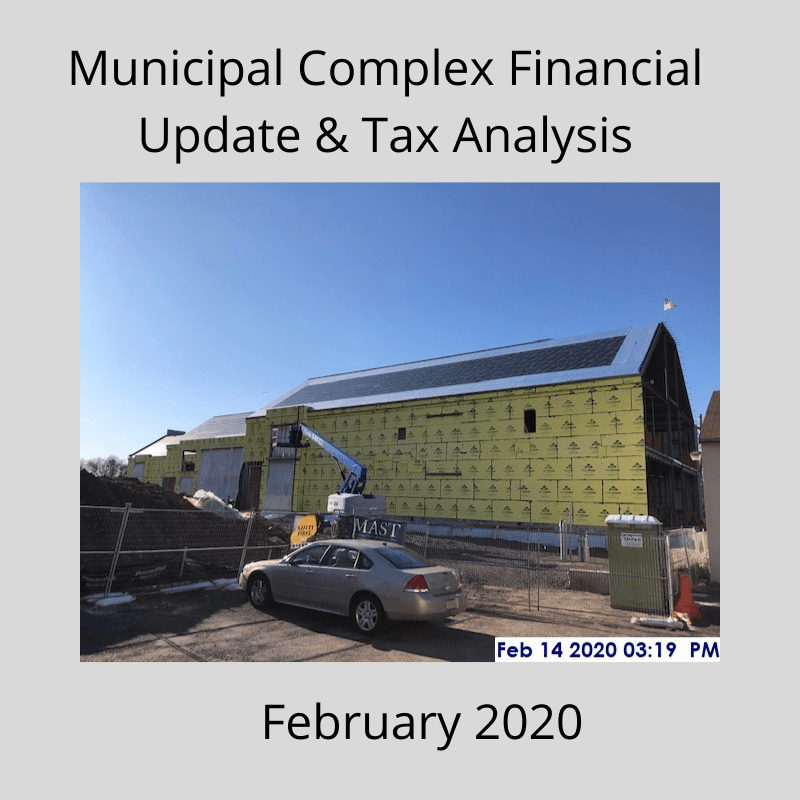 Muni Complex Financial Update
