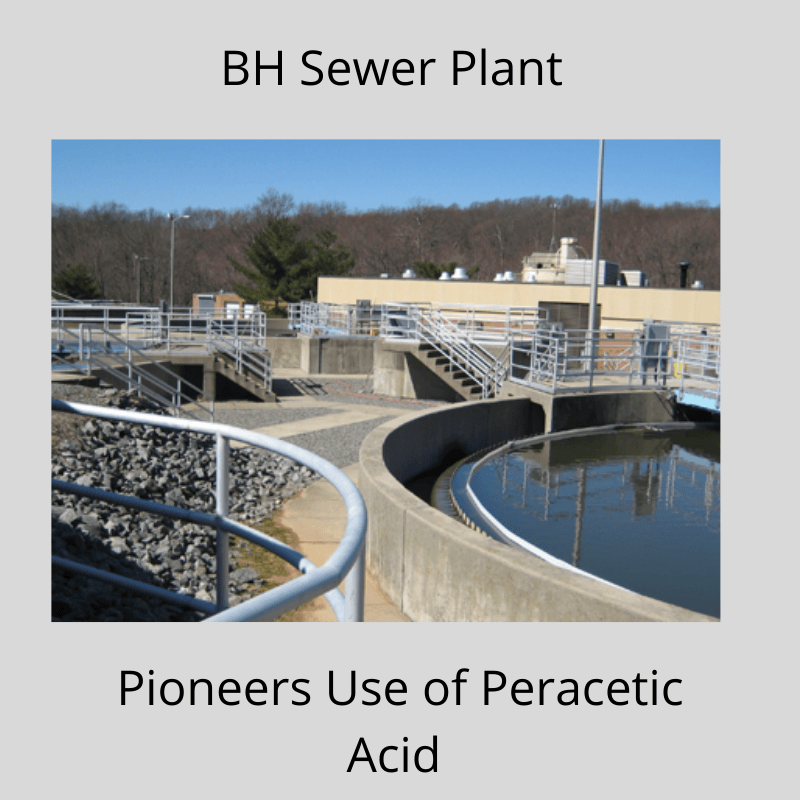 BH Sewer Plant Pioneers New Disinfectant System