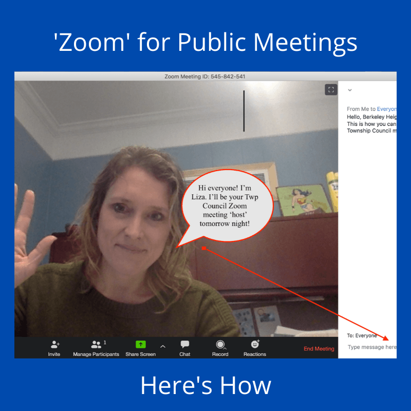 How to Zoom for Public Meetings