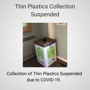 Thin Plastics Collection Suspended