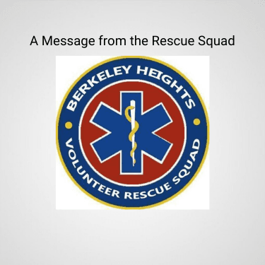 A Message from the Rescue Squad