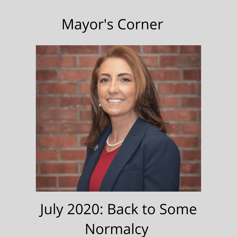 Mayor's Corner - July 2020