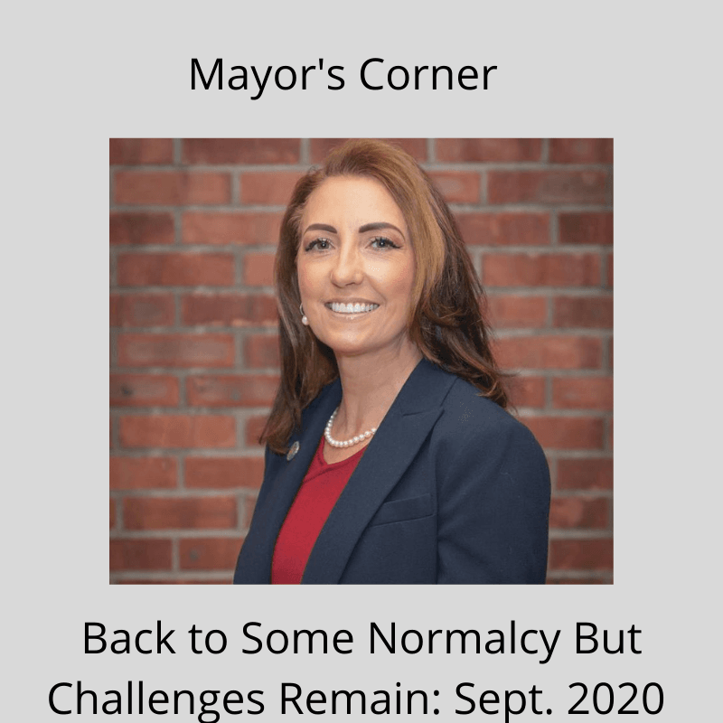 Mayor's Corner - September 2020